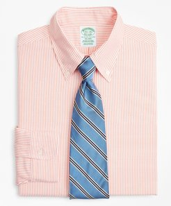 Original Polo Button-Down Oxford Milano Slim-Fit Dress Shirt, Stripe