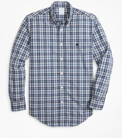 Regent Fit Graph Plaid Zephyr Sport Shirt