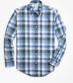 Milano Fit Open Plaid Zephyr Sport Shirt