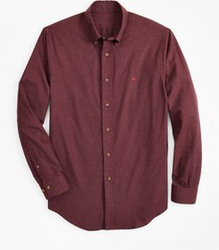Regent Fit Brushed Flannel Sport Shirt