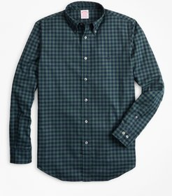 Madison Fit Brushed Gingham Sport Shirt