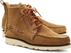 Suede Boat Boots