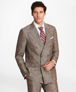 Regent Fit Double-Breasted Wool Blend Sport Coat