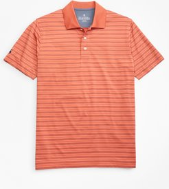 Performance Series Bird's-Eye Outline Stripe Polo Shirt