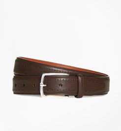 Leather Perforated Belt