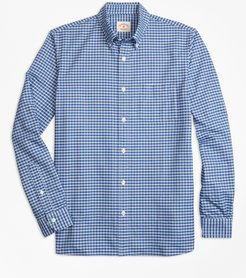 Check Supima Cotton Oxford Sport Shirt