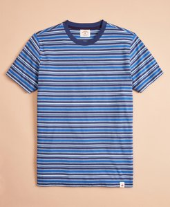 Multi-Stripe Cotton Jersey T-Shirt