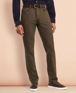 Five-Pocket Garment-Dyed Jeans