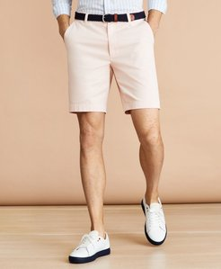 "Garment-Dyed 9"" Stretch Chino Shorts"