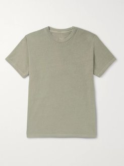 Cotton-Jersey T-Shirt - Men - Green