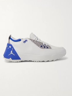 Air Jordan ADG 2 Rubber-Trimmed Coated-Mesh and Leather Sneakers - Men - White