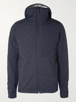 Ventus Quilted Ripstop Hooded Jacket - Men - Blue