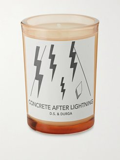 Concrete After Lightning Scented Candle, 200g - Men - Colorless