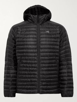 Cerium SL Packable Quilted Shell Hooded Down Jacket - Men - Black