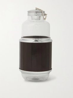 Glass, Ebony and Stainless Steel Diffuser Bottle - Men - Black