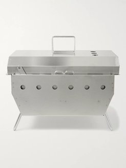 Stainless Steel BBQ Box - Men - Silver