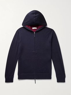 Jean Paul Mélange Cashmere and Silk-Blend Zip-Up Hoodie - Men - Multi