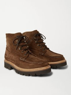 Rocco Suede Boots - Men - Brown