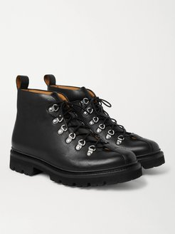 Bobby Leather Boots - Men - Black
