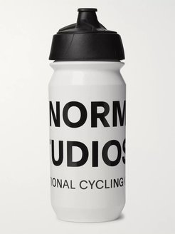 Logo-Print Water Bottle, 500ml - Men - White