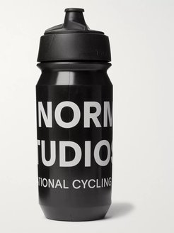 Logo-Print Water Bottle, 500ml - Men - Black