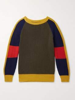 Cashmere and Wool-Blend Sweater - Men - Multi