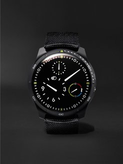 Type 5BB Automatic 46mm DLC-Coated Titanium and Leather Watch - Men - Black