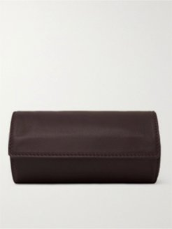 Leather Watch Case - Men - Brown