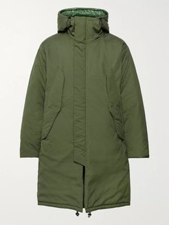 Harry's Vancloth Cotton Oxford Hooded Parka - Men - Green
