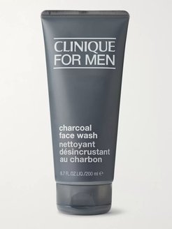 Charcoal Face Wash, 200ml - Men - Colorless