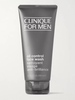 Oil Control Face Wash, 200ml - Men - Colorless