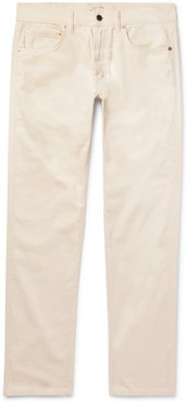 Cotton-Corduroy Trousers - Men - Neutrals