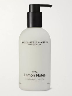 No.74 Lemon Notes Hand and Body Lotion, 300ml - Men - Colorless
