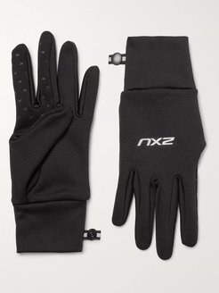 Stretch-Jersey Gloves - Men - Black
