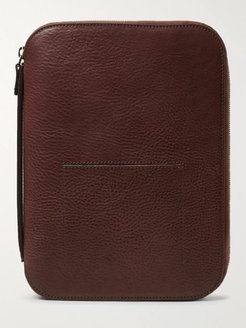 Mod Tablet 5 Leather Pouch - Men - Brown