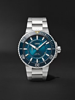 Great Barrier Reef III Limited Edition Automatic 43.5mm Stainless Steel Watch, Ref. No. 01 743 7734 4185-Set - Men - Blue