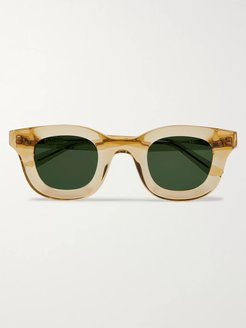 Thierry Lasry Rhodeo Square-Frame Acetate Sunglasses - Men - Yellow