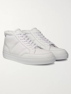Danny Leather High-Top Sneakers - Men - White