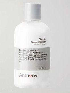 Glycolic Facial Cleanser, 237ml - Men - Colorless