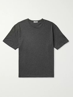 Josiah Cotton and Cashmere-Blend T-Shirt - Men - Gray