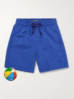 Boys Ages 2 - 8 Jim Water-Reactive Swim Shorts - Men - Blue
