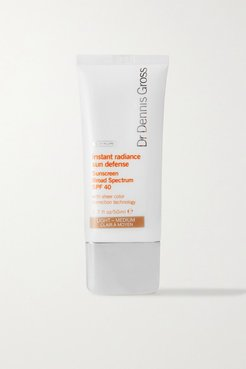 Instant Radiance Sun Defense Spf40 - Light/medium, 50ml
