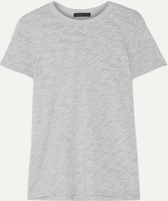 Schoolboy Slub Supima Cotton-blend Jersey T-shirt - Gray