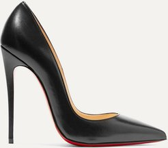 So Kate 120 Leather Pumps - Black