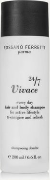 Vivace 24/7 Every Day Hair And Body Shampoo, 200ml