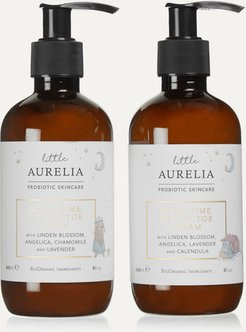 Net Sustain Little Aurelia Sleep Time Top To Toe Wash & Cream, 2 X 240ml