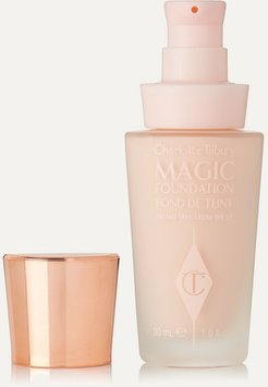 Magic Foundation Flawless Long-lasting Coverage Spf15 - Shade 0, 30ml