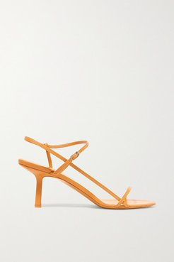 Bare Leather Sandals - Mustard