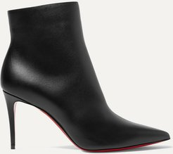 So Kate Booty 85 Leather Ankle Boots - Black