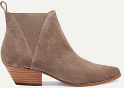 Nadie Suede Chelsea Boots - Taupe
